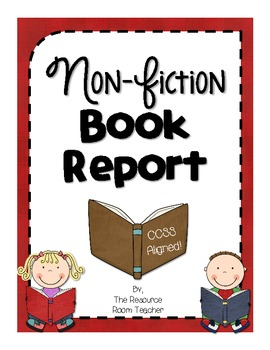 Non-Fiction Book Report (CCSS Aligned!)