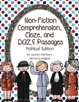 Non-Fiction Comprehension, Cloze, and DAZE Passages (Polit