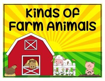 "Non-Fiction Farm ""Kinds of"" Book"