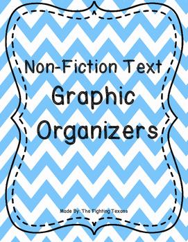 Reading Non-Fiction Graphic Organizers