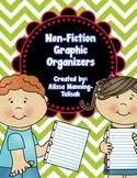 Non-Fiction Graphic Organizers {Common Core Aligned}