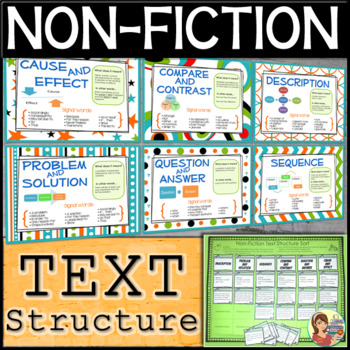 Non-Fiction Informational Text Structure Pack