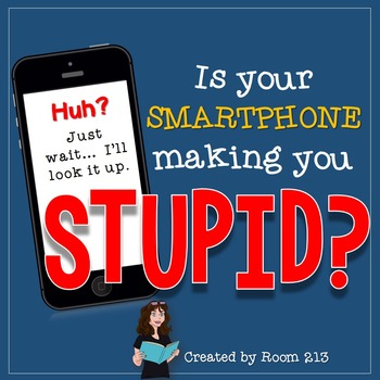 Non-Fiction Lesson: Is Your Smartphone Making You Stupid?