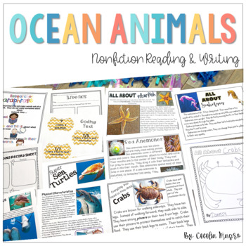 Nonfiction Reading Resources - Close Reading & Writing K-2