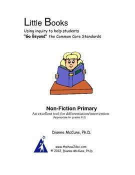 Non-Fiction Primary - Literacy Response Journal