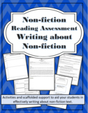 Non-Fiction Reading Assessment