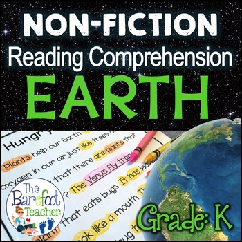 Earth Day - NonFiction Reading Comprehension Pack