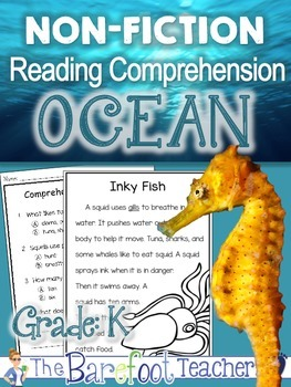 Ocean - Non Fiction Reading Comprehension Pack