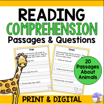 Non-Fiction Reading Comprehension Passages (First Grade)