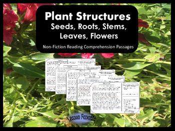 Plants Non-Fiction Reading Comprehension Passages