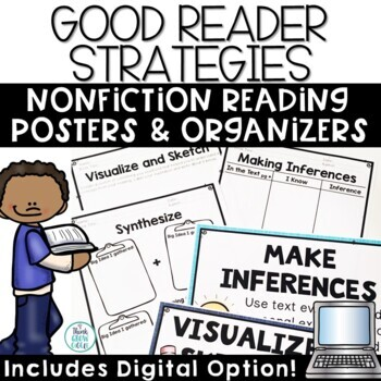 Non-Fiction Reading Strategies Poster Set