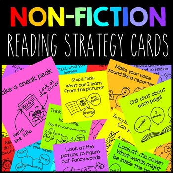 Non Fiction Reading Strategy Cards
