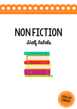 Non Fiction Shelf Labels (Extended)