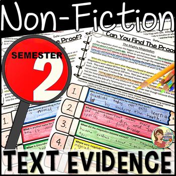 Non-Fiction Text Detectives  {BUNDLE Semester 2}