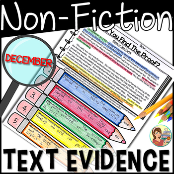 Non-Fiction Text Detectives {December}
