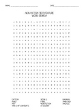 Non Fiction Text Feature Word Search