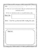 Non-Fiction Text Features Checklist and Writing Activities