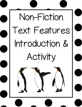 Non-Fiction Text Features Hunt