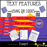 QR Code Non-Fiction Text Features