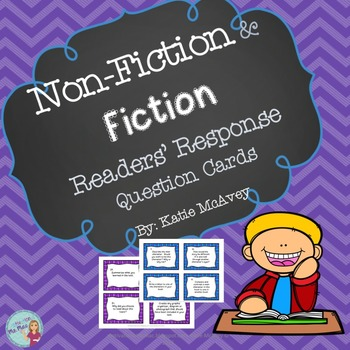 Non-Fiction and Fiction Readers' Response Cards