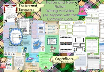 Non-Fiction and Fiction Writing (Aligned with Common Core)