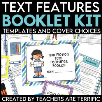 Non Fiction Text Features Booklets