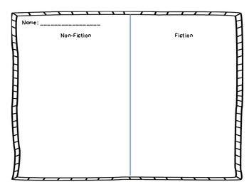 Non-Fiction or Fiction Form