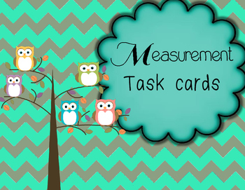 Non-Standard Measurement Task Cards