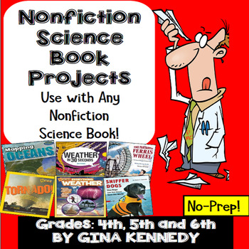 Nonfiction Science Book Report for Classroom and Library S