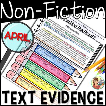 Non-fiction Text Detectives {April}