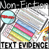 Non-fiction Text Detectives {February}