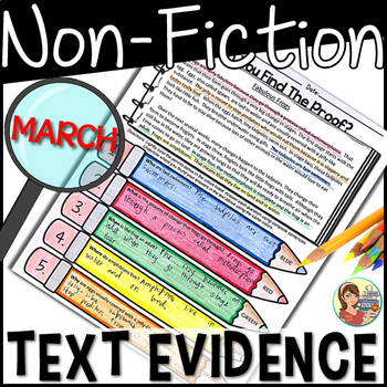 Non-fiction Text Evidence {March}