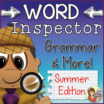 Grammar Word Inspector {Summer}