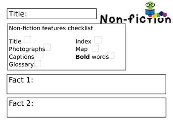Non-fiction task