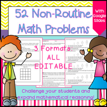 Math Enrichment: Math Challenge Problems for Older Students