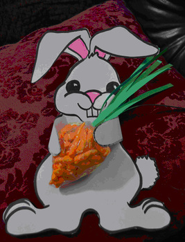 NonCandy Easter Bunny Treat
