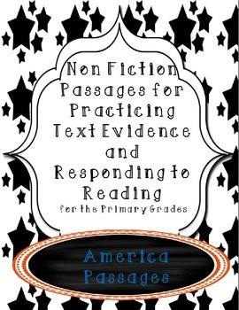 Non-Fiction Comprehension and Fluency Passages-America
