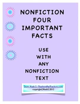 NonFiction Text Four Important Facts