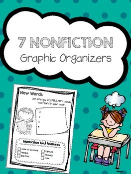 Nonficiton Graphic Organizers Mini set