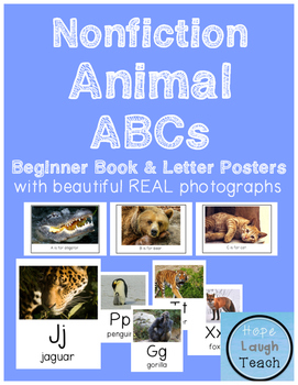 Nonfiction Animal Posters & ABC Printable Beginning Book