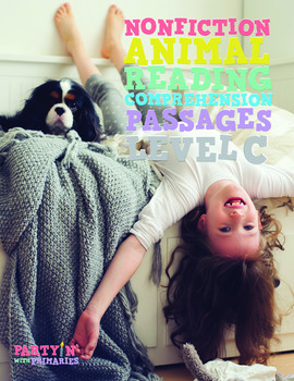 Reading Comprehension Passages Nonfiction Animals: Guided