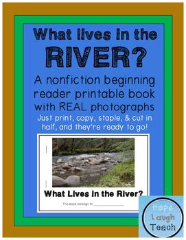 Nonfiction Beginning Reader Printable Book - Rivers