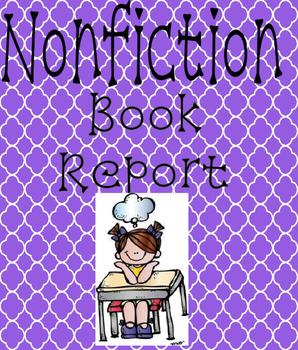 Nonfiction Book Report - W.1.1