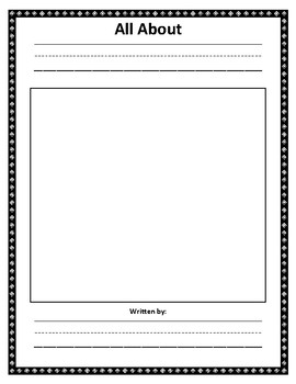 Nonfiction Book: Writing Paper