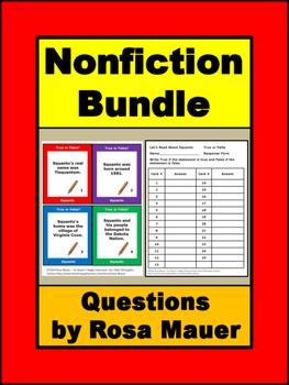 Nonfiction Books Growing Bundle Informational Text  Task C
