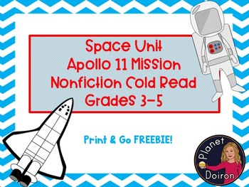 Nonfiction Cold read Apollo 11 moon mission space unit