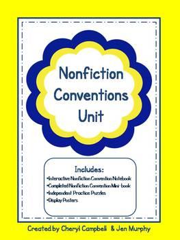 Nonfiction Conventions Unit