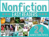 Nonfiction Easy Readers Set Two {for primary readers}