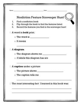 Nonfiction Feature Hunt