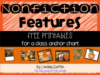 Nonfiction Features for Class Anchor Chart